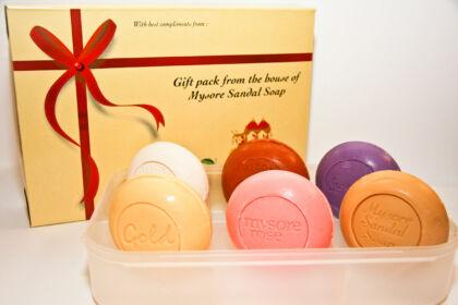 Mysore díszdobozos szappan
