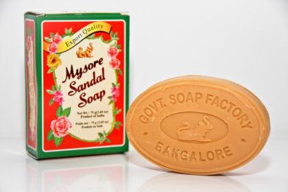 Mysore szantál szappan 75 g