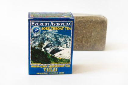 Tulsi - ájurvédikus torokfájás elleni tea