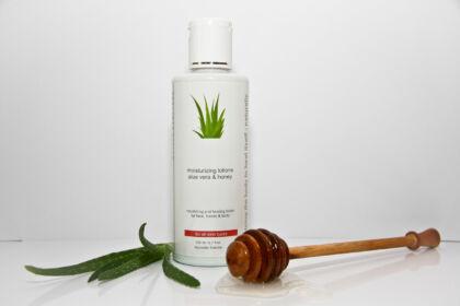 Aloe vera & méz hidratáló testápoló tej