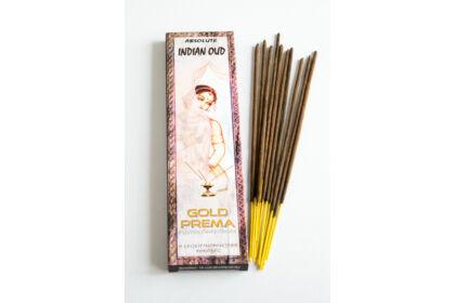 Indian Oud füstölő Gold Prema