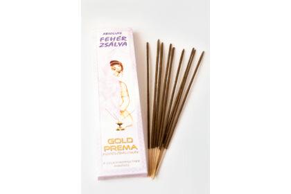 Fehér zsálya füstölő Gold Prema