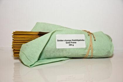 Golden Champa Füstölő Gold Prema 250g