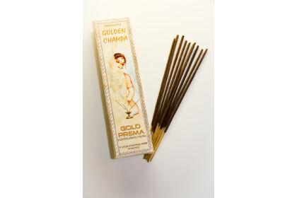 Golden Champa füstölő Gold Prema