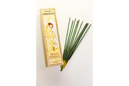 Vanília füstölő Gold Prema