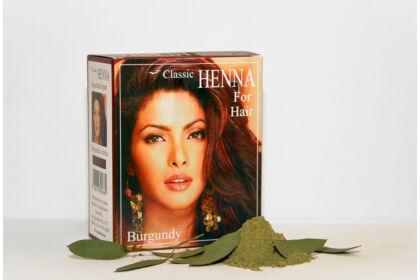 Classic Henna Burgundi hajfesték