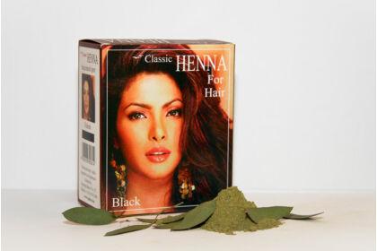 Classic Henna Fekete hajfesték