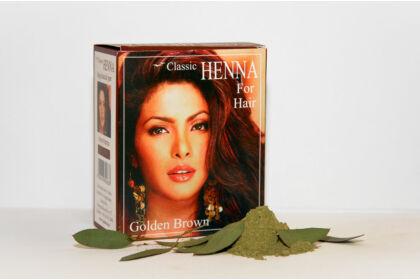 Classic Henna Aranybarna hajfesték