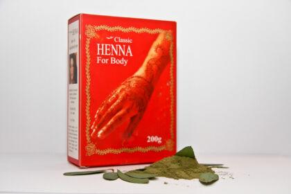 Classic Henna por (200g)