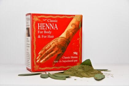Classic Henna por (50g)