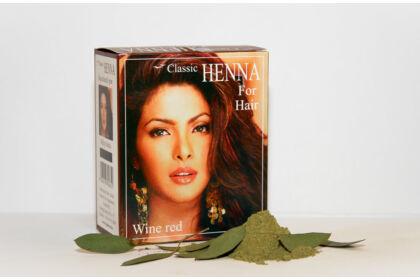 Classic Henna Mélyvörös hajfesték