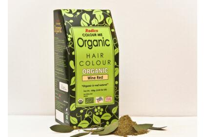 Radico Organic Hajszínező- Mélyvörös