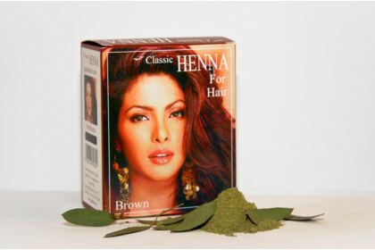 Classic Henna Sötétbarna hajfesték