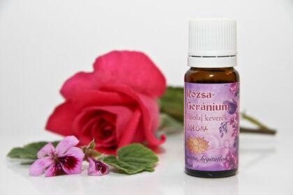 Rózsa- geranium illóolaj keverék